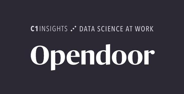 Data Science at Work:  Opendoor