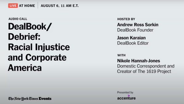 How can Companies actually make an impact on Diversity? // DealBook Debrief: Racial Injustice and Corporate America